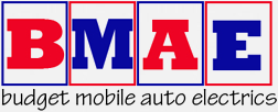 Budget Mobile Auto Electrics Logo